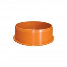 Заглушка D 110мм РЫЖАЯ нар.канализ.(250) VALFEX коробка