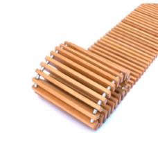 Декоративная деревянная решетка Techno 200-700